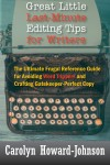 Great Little Last-Minute Editing Tips for Writers by Carolyn Howard-Johnson from  in  category