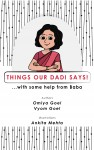 Things Our Dadi Says - text