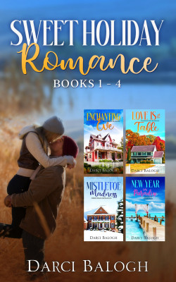 Sweet Holiday Romance Books 1 - 4 by Darci Balogh from PublishDrive Inc in General Novel category