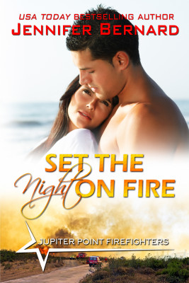 Set the Night on Fire by Jennifer Bernard from PublishDrive Inc in Romance category
