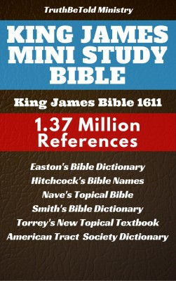 King James Mini Study Bible by King James from PublishDrive Inc in Christianity category