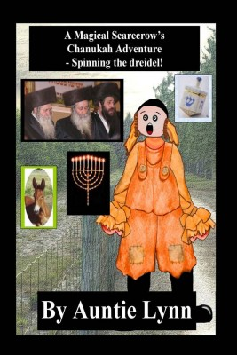 A Magical Scarecrow's Chanukah Adventure -Spinning the Dreidel by Auntie Lynn from Strategic Book Publishing & Rights Agency in Children category