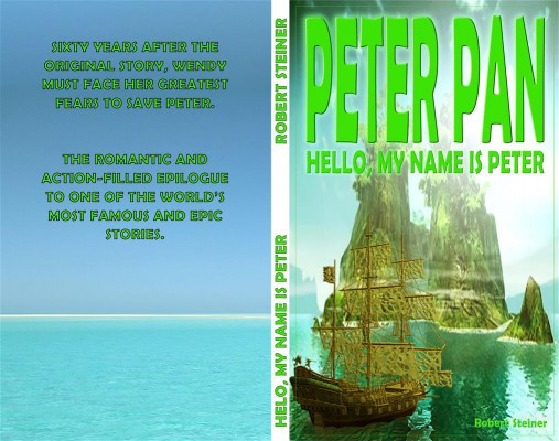 Peter Pan - Hello, my name is Peter by Robert Steiner from StreetLib SRL in General Novel category