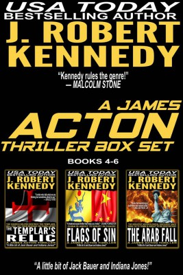 A James Acton Box Set - Books 4-6 by J. Robert Kennedy from StreetLib SRL in General Novel category