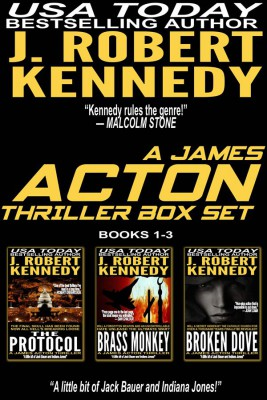 A James Acton Box Set - Books 1-3 by J. Robert Kennedy from StreetLib SRL in General Novel category