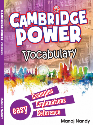 Cambridge Power Vocabulary by Manoj Nandy and Milon Nandy from Prestasi Publication Enterprise in Language & Dictionary category