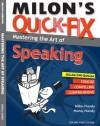 Milon's Quick-Fix: Mastering The Art of Speaking - text