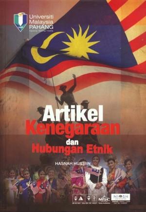 Artikel Kenegaraan & Hubungan Etnik by Hasnah Hussiin from Penerbit UMP in General Academics category
