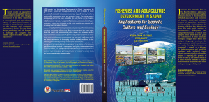 Fisheries and Aquaculture Development in Sabah: Implications to society, culture and ecology