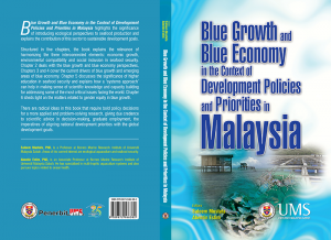 Blue Growth and Blue Economy in The Context of Development Policies and Priorities in Malaysia