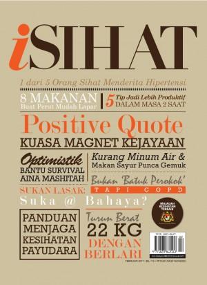i-Sihat Februari 2017 by UTUSAN KARYA SDN BHD from UTUSAN KARYA SDN BHD in Magazine category
