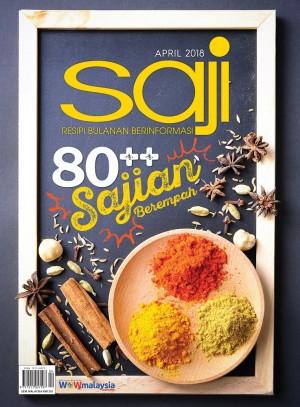 Saji April 2018 by UTUSAN KARYA SDN BHD from UTUSAN KARYA SDN BHD in General Novel category
