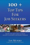 100 + Top Tips For Job Seekers - text