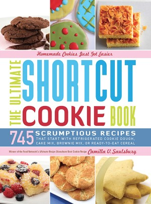The Ultimate Shortcut Cookie Book by Camilla Saulsbury from Vearsa in Recipe & Cooking category
