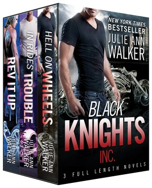 Black Knights Inc. Boxed Set: Volumes 1-3 by Julie Ann Walker from Vearsa in Romance category