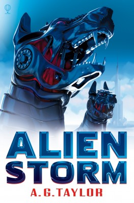 Alien Storm by A.G. Taylor from Vearsa in Teen Novel category
