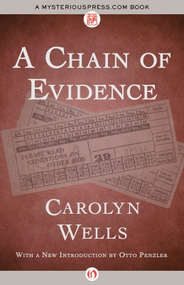A Chain of Evidence by Carolyn Wells from Vearsa in General Novel category