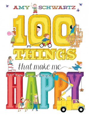 100 Things That Make Me Happy by Amy Schwartz from Vearsa in Teen Novel category
