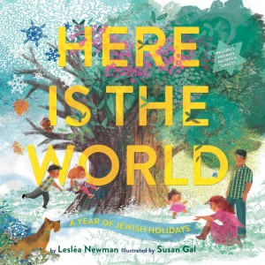 Here Is the World: A Year of Jewish Holidays by Lesléa  Newman from Vearsa in Teen Novel category