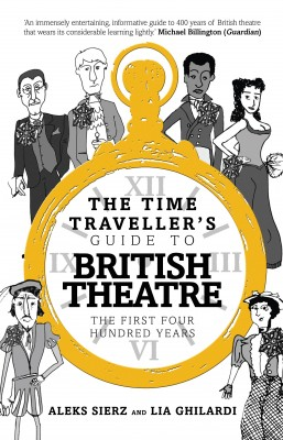 The Time Traveller's Guide to British Theatre by Lia Ghilardi from Vearsa in Art & Graphics category
