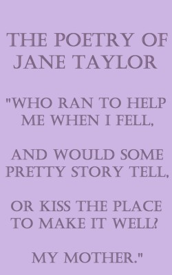 The Poetry Of Jane Taylor by Jane  Taylor from Vearsa in Language & Dictionary category