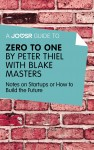 A Joosr Guide to... Zero to One by Peter Thiel by Joosr from  in  category