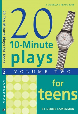10-Minute Plays for Teens, Volume II by Debbie Lamedman from Vearsa in Language & Dictionary category