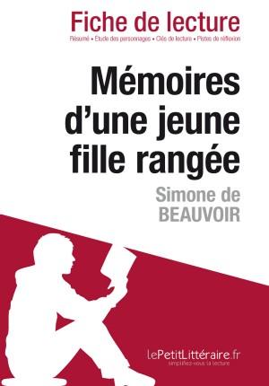 Mémoires d'une jeune fille rangée de Simone de Beauvoir (Fiche de lecture) by lePetitLittéraire from Vearsa in General Novel category