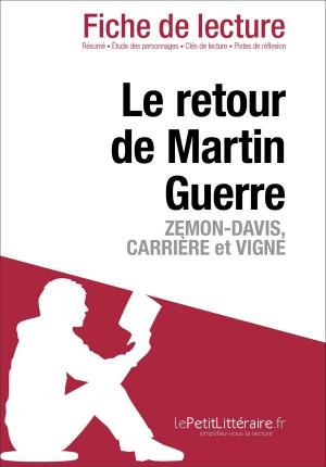 Le Retour de Martin Guerre de Natalie Zemon Davis, Jean-Claude Carrière et Daniel Vigne (Fiche de lecture) by lePetitLittéraire from Vearsa in General Novel category