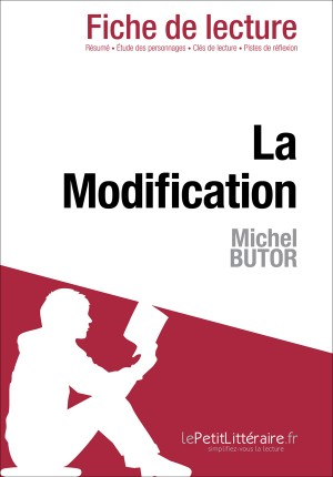 La Modification de Michel Butor (Fiche de lecture) by Evelyne Marotte from Vearsa in General Novel category