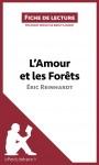 L'Amour et les Forêts d'Éric Reinhardt (Fiche de lecture) - text