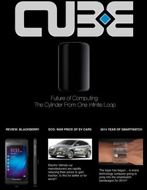 Cube Magazine arabic