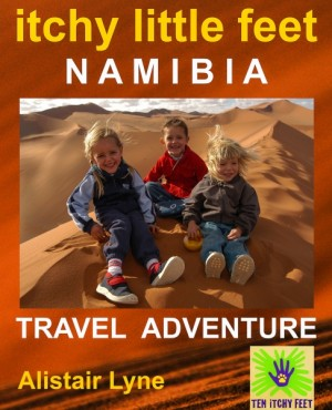 Itchy Little Feet - Namibia. by Alistair Lyne from XinXii - GD Publishing Ltd. & Co. KG in Teen Novel category